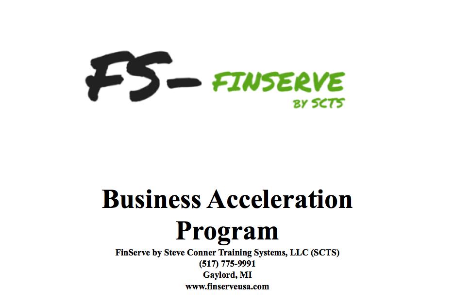 FinServe Business Acceleration Program